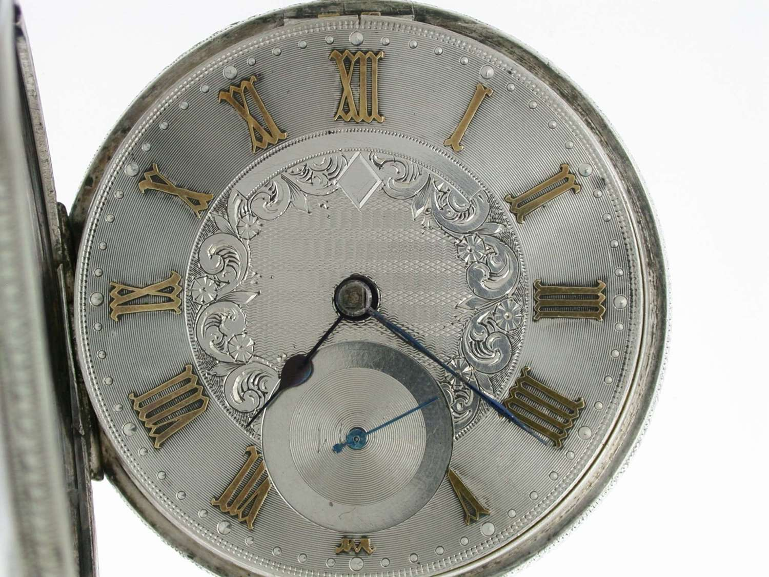 Silver John Forrest Fusee Lever Open Face Pocket Watch Chester 1900
