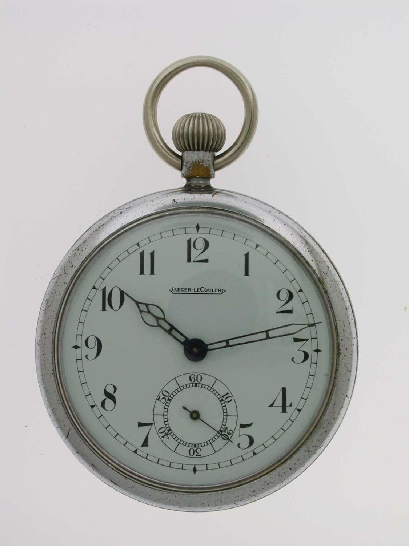 Original JAEGER LECOULTRE Military Pocket Watch  Swiss 1942