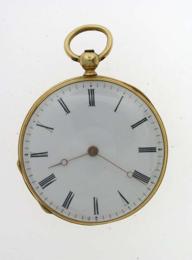 VACHERON & CONSTANTIN 18 Kt GOLD POCKET WATCH 1840