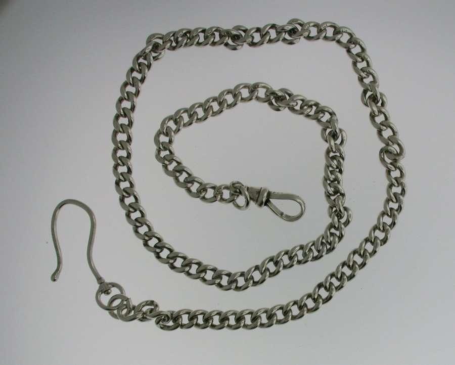 Silver Pocket Watch Chain (54)