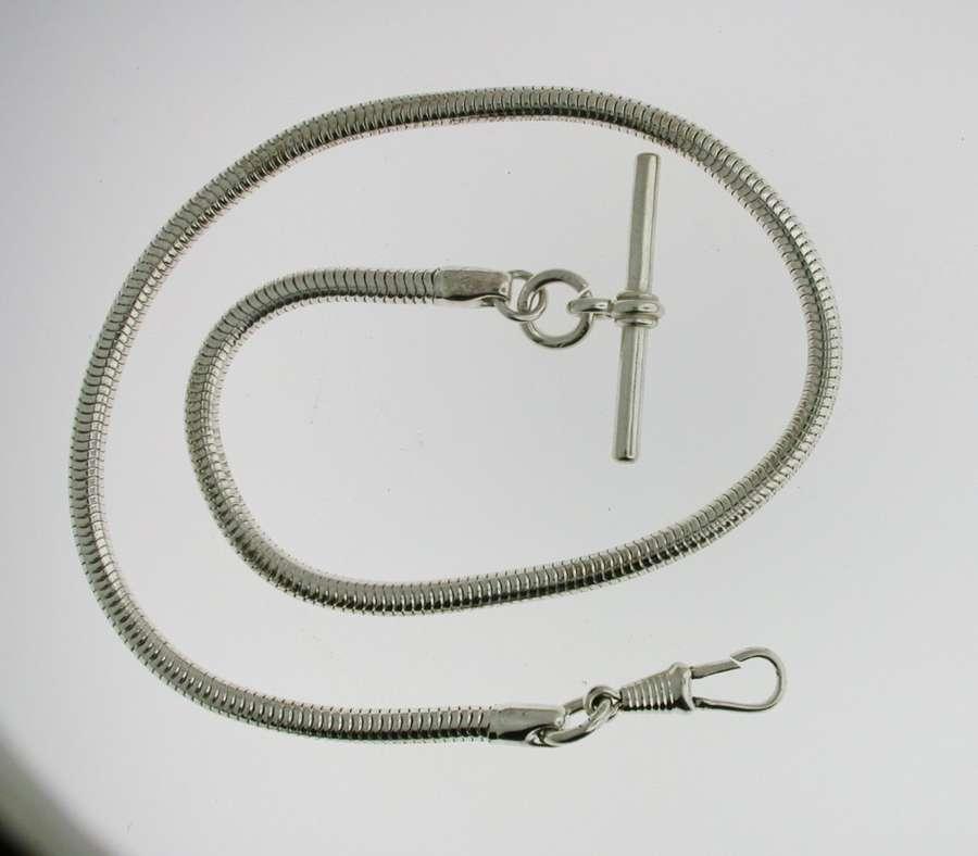 Silver Pocket Watch Chain (68)