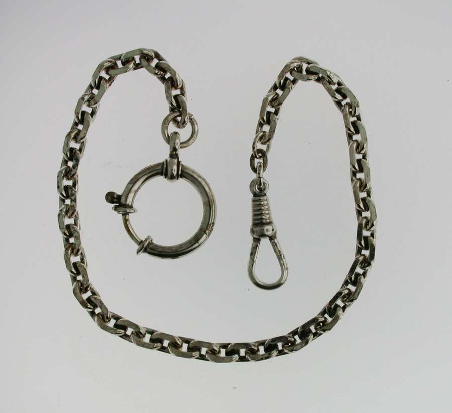 Silver 835 Pocket Watch Chain (71)