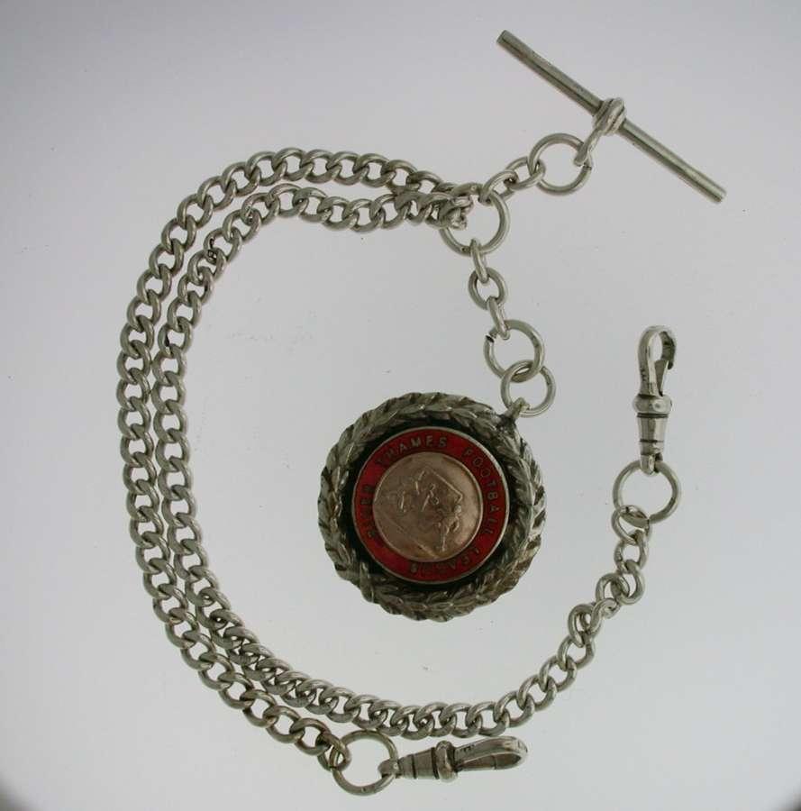 Silver Pocket Watch Chain (75)