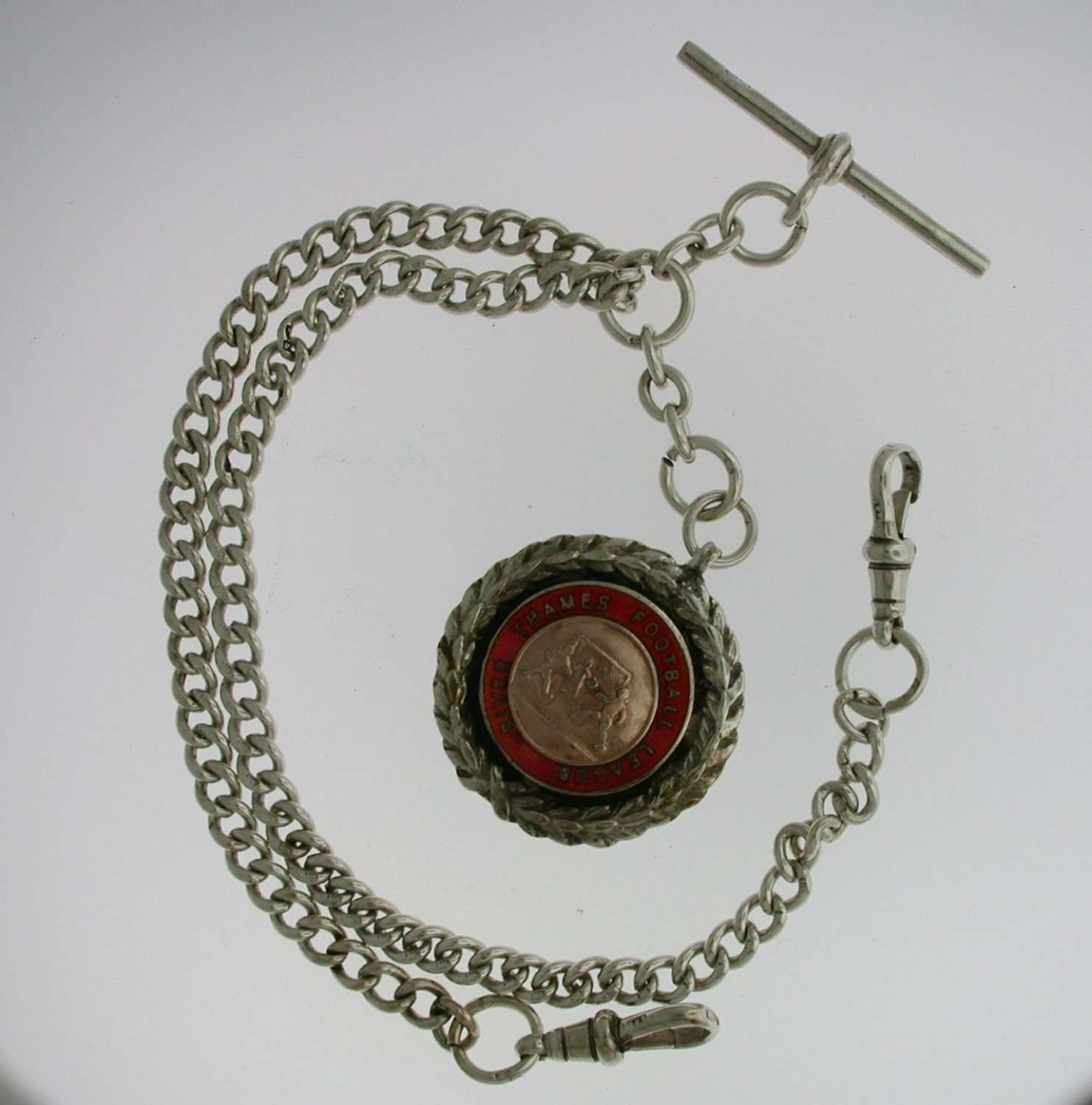 Silver Pocket Watch Chain (75)