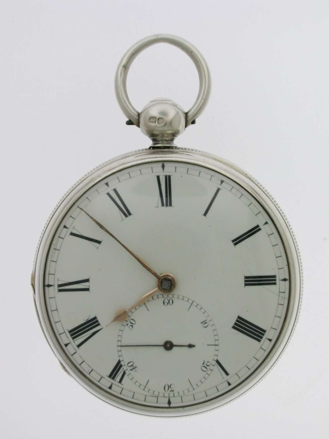 Silver Fusee Lever Gent's Pocket Watch  Royal Exchange London 1910